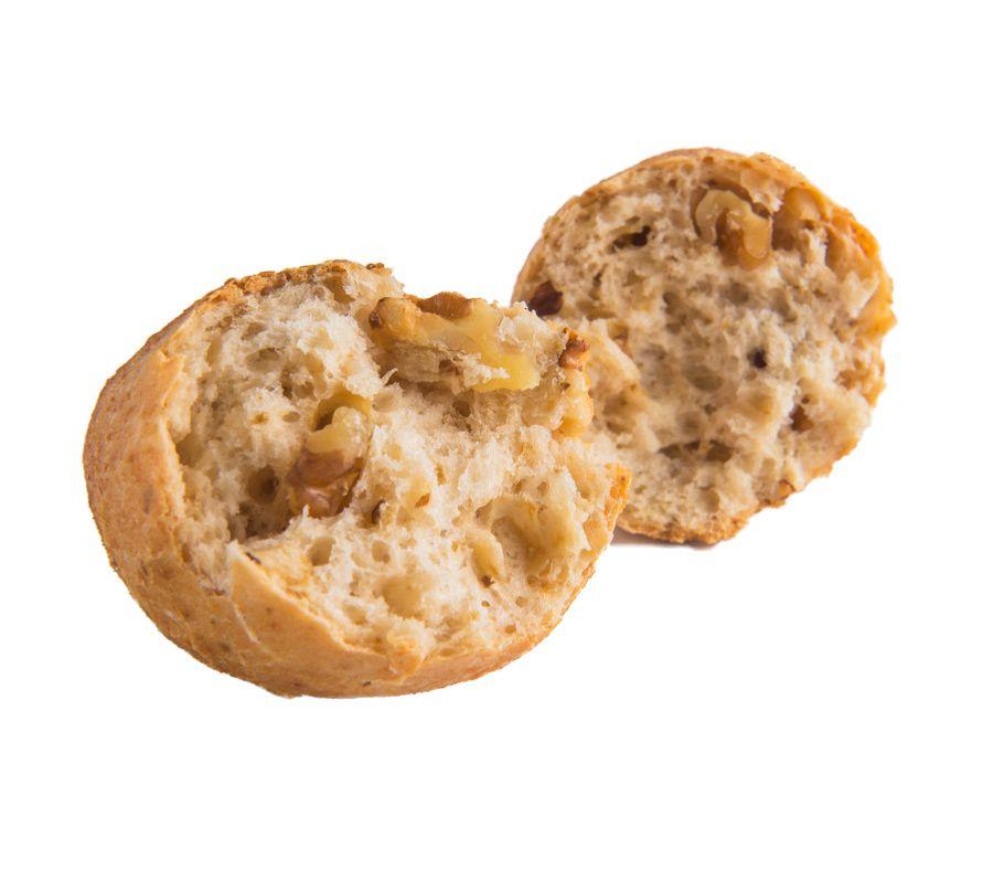 Panecillo De Nueces Sin Gluten